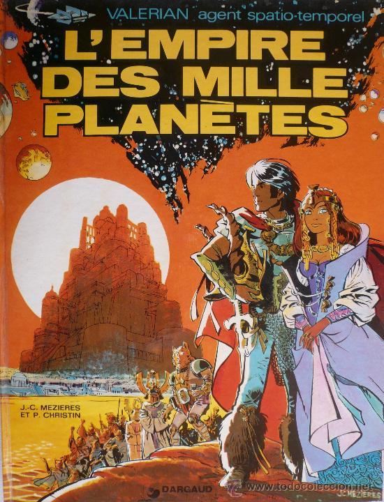 VALERIAN / L'EMPIRE DES MILLE PLANÈTES (Tebeos y Comics - Grijalbo - Valerian)
