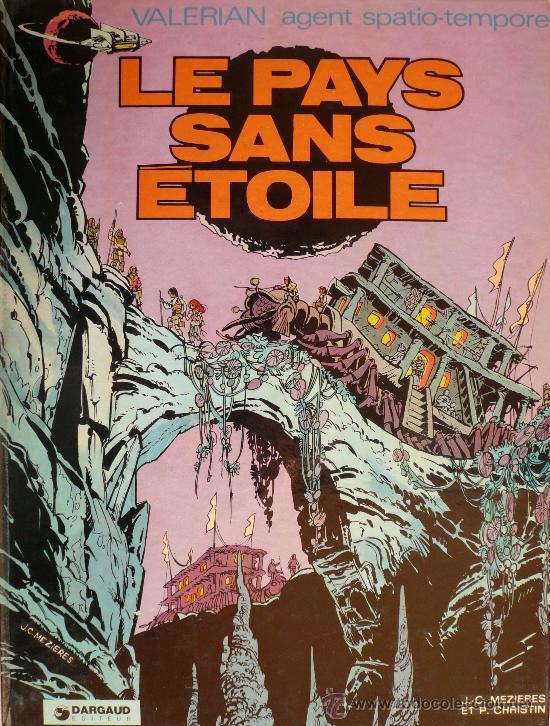 VALERIAN / LE PAYS SANS ETOILE (Tebeos y Comics - Grijalbo - Valerian)
