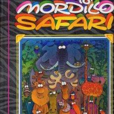 Fumetti: MORDILLO - SAFARI - GRIJALBO 1990 - TAPAS DURAS - 80 PÁGINAS COLOR Y BLANCO Y NEGRO. Lote 254987990