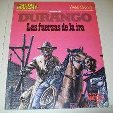 Cómics: LC 11 - COMIC METAL HURLANT 12 - DURANGO - LAS FUERZAS DE LA IRA - YVES SWOLFS - BUENO. Lote 27460090