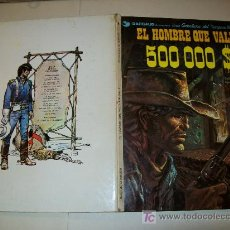 Cómics: BLUEBERRY 8 - GRIJALBO DARGAUD 1980 - EL HOMBRE QUE VALÍA 500.000 DOLARES. Lote 25360751
