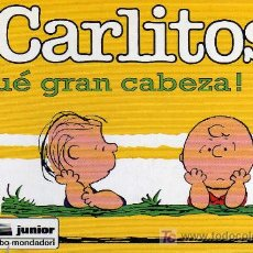 Cómics: CARLITOS, ¡QUÉ GRAN CABEZA!, Nº 26 - SCHULZ - JUNIOR/GRIJALBO MONDADORI 1996. Lote 27109251