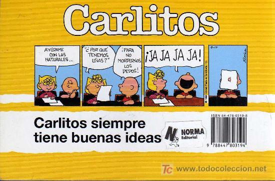 Cómics: CARLITOS, ¡QUÉ GRAN CABEZA!, Nº 26 - SCHULZ - JUNIOR/GRIJALBO MONDADORI 1996 - Foto 2 - 27109251