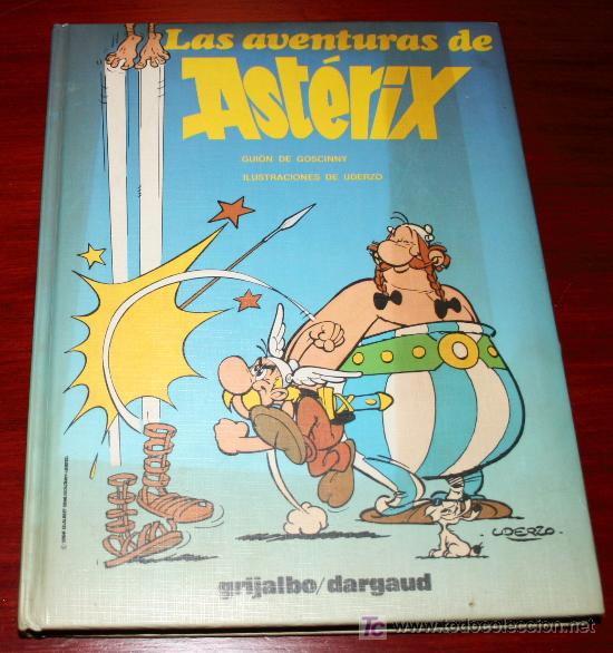 TOMO Nº 1 LAS AVENTURAS DE ASTERIX - GOSCINNY / UDERZO - GRIJALBO / DARGAUD (Tebeos y Comics - Grijalbo - Asterix)