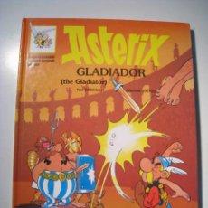 Cómics: ASTERIX GLADIADOR - GRIJALBO - BILINGUE - 1996 - TAPA DURA. Lote 15373469