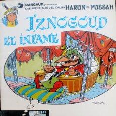 Cómics: IZNOGOUD EL INFAME # 7, RÚSTICA - CLC. Lote 27294461