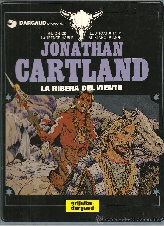 JONATHAN CARTLAND Nº 3 LA RIBERA DEL VIENTO GRIJALBO/DARGAUD (Tebeos y Comics - Grijalbo - Otros)