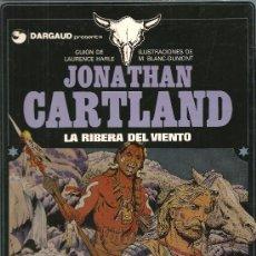 Cómics: JONATHAN CARTLAND Nº 3 LA RIBERA DEL VIENTO GRIJALBO/DARGAUD. Lote 27130987