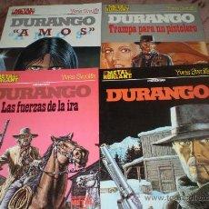 Cómics: 4 TOMOS DE DURANGO. Lote 27592420