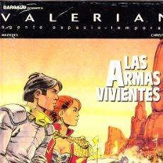 Cómics: UNA AVENTURA DE VALERIAN, Nº14: LAS ARMAS VIVIENTES. DARGAUD. TAPA DURA PRECINTADO.. Lote 27227495