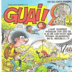 Cómics: GUAI ! - EDICIONES JUNIOR Nº 9 1986. Lote 17841386