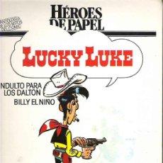 Cómics: HEROES DE PAPEL - LUCKY LUKE - ALBUM DOBLE CAPITULO 1985 CIRCULO. Lote 16643586