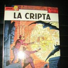 Cómics: LEFRANC Nº 9 LA CRIPTA. Lote 16663872