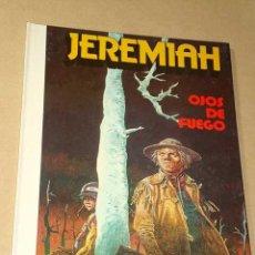Cómics: JEREMIAH Nº 4. OJOS DE FUEGO. HERMANN. EDICIONES JUNIOR 1981. NUEVO. +++++. Lote 25786061