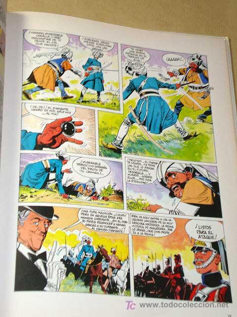 Cómics: LOS GENTLEMEN Nº 1. JAQUE A SCOTLAND YARD. CASTELLI Y TACCONI. GRIJALBO JUNIOR, 1980.++++ - Foto 2 - 25786066