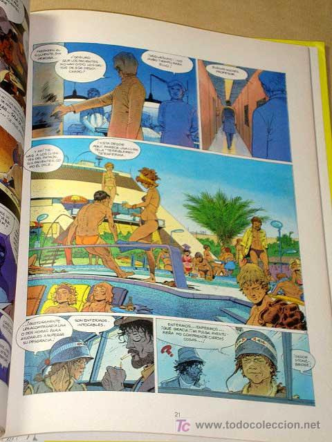Cómics: JEREMIAH Nº 5. UN COBAYA PARA LA ETERNIDAD. HERMANN. EDICIONES JUNIOR 1982. +++++ - Foto 2 - 25786063