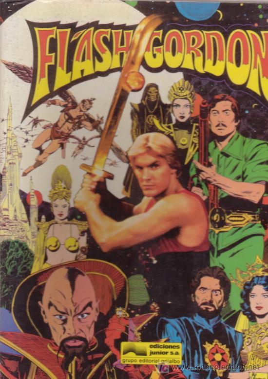 FLASH GORDON. COMIC BASADO EN LA PELÍCULA DE 1980. BRUCE JONES & AL WILLIAMSON. EDITORIAL GRIJALBO. (Tebeos y Comics - Grijalbo - Otros)
