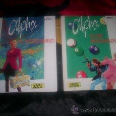 Cómics: LOTE DOS COMICS DE ALPHA Nº 1 Y 2 GRIJALBO DARGAUD ¡ IMPECABLES ¡. Lote 26318036