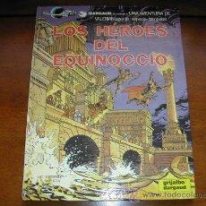Cómics: VALERIAN: LOS HÉROES DEL EQUINOCCIO. DARGAUD. 1987 TAPA DURA - REFª (JC). Lote 24984620