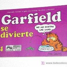 Cómics: GARFIELD Nº 4. GARFIELD SE DIVIERTE. JIM DAVIES. EDICIONES JUNIOR 1990. TIRAS DE HUMOR.. Lote 26362418