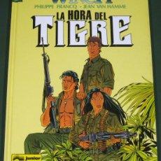 Comics - LARGO WINCH #8 LA HORA DEL TIGRE (ED. GRIJALBO) - 30839450