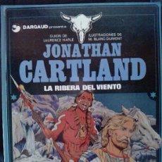 Cómics: JONATHAN CARTLAND , LA RIBERA DEL VIENTO, Nº3 GRIJALBO /DARGAUD. Lote 26345196