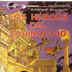 Cómics: VALERIAN, AGENTE ESPACIO-TEMPORAL Nº 7: LOS HÉROES DEL EQUINOCCIO (BARCELONA, 1978). Lote 25244520