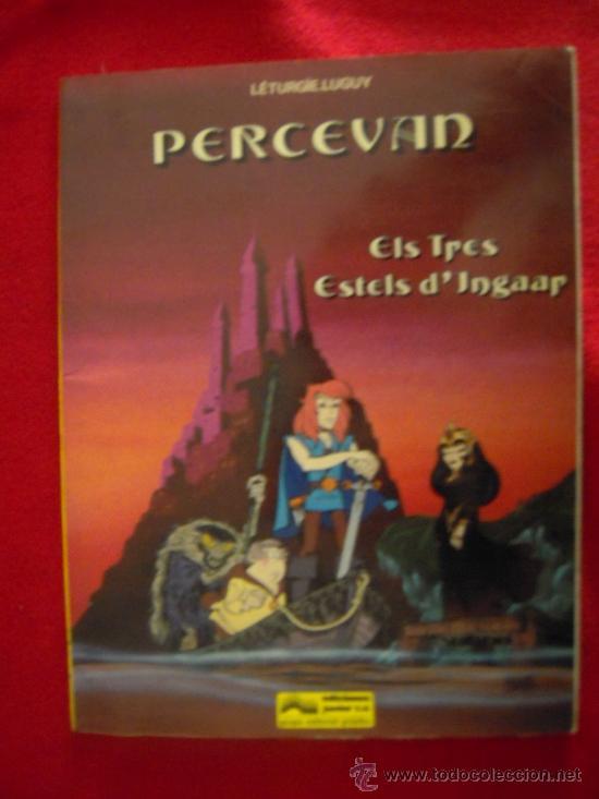 PERCERVAN 1- ELS TRES ESTELS D INGAAR - LETURGIE&LUGUY - EDICIONES JUNIOR - EN CATALAN - TAPA BLANDA (Tebeos y Comics - Grijalbo - Percevan)
