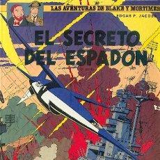 Cómics: LAS AVENTURAS DE BLAKE Y MORTIMER Nº 11,EDITORIAL GRIJALBO,TAPA DURA. Lote 25085581