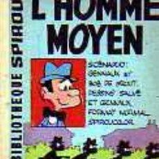 Cómics: MINI BIBLIOTECA SPIROU L'HOMME MOYEN ( FRANCES ). Lote 19789401