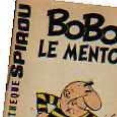 Cómics: MINI BIBLIOTECA SPIROU BOBO LE MENTOR ( FRANCES ). Lote 19789671