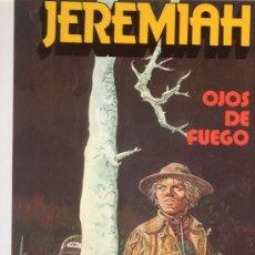 Cómics: JEREMIAH. OJOS DE FUEGO. HERMANN. Nº 4. EDICIONES JUNIOR GRIJALBO.. Lote 26403255