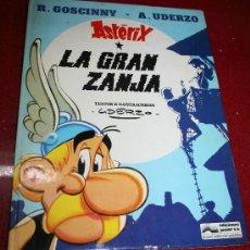 Cómics: ASTERIX - LA GRAN ZANJA - GOSCINNY/UDERZO - ED. JUNIOR 1986 - EN CASTELLANO. Lote 21559998