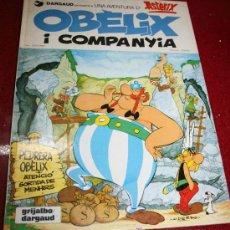 Cómics: ASTERIX - OBELIX I COMPANYIA - GOSCINNY/UDERZO - GRIJALBO/DARGAUD 1984 - EN CATALAN. Lote 20306247