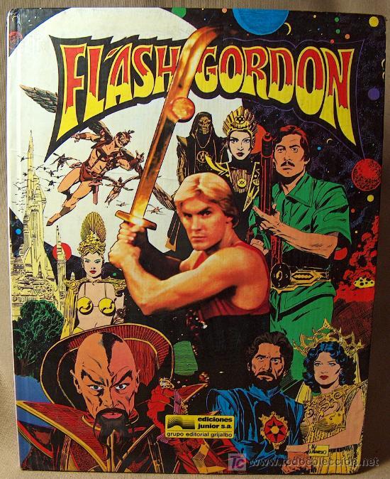 COMIC TAPA DURA, FLASH GORDON, EDICIONES JUNIOR, GRIJALBO, 64 PAGINAS, 1984 (Tebeos y Comics - Grijalbo - Otros)