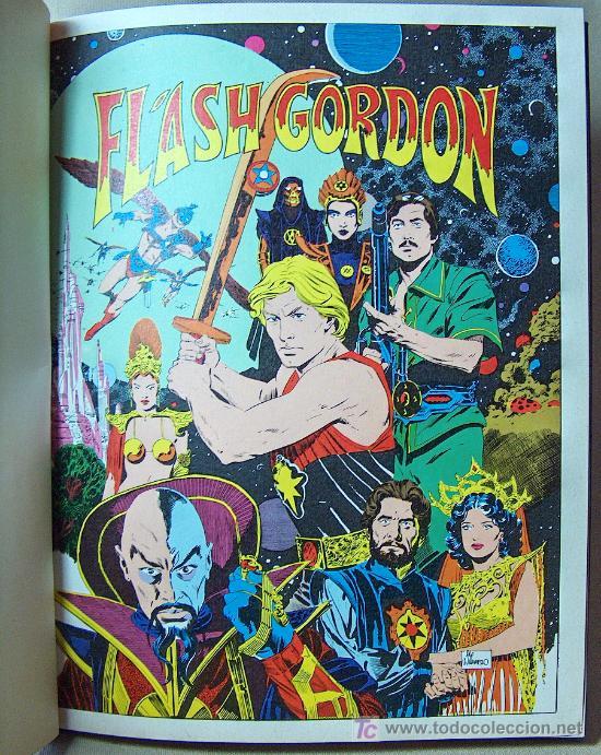 Cómics: COMIC TAPA DURA, FLASH GORDON, EDICIONES JUNIOR, GRIJALBO, 64 PAGINAS, 1984 - Foto 2 - 20348321