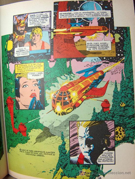 Cómics: COMIC TAPA DURA, FLASH GORDON, EDICIONES JUNIOR, GRIJALBO, 64 PAGINAS, 1984 - Foto 4 - 20348321