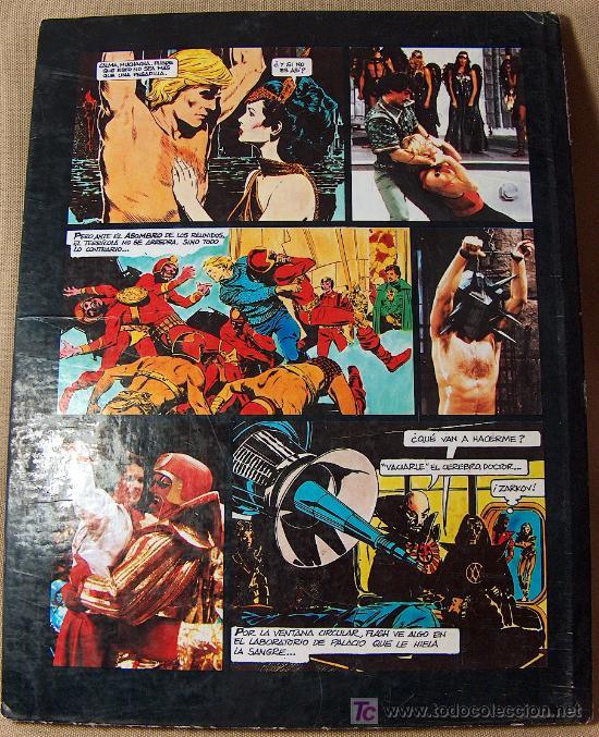 Cómics: COMIC TAPA DURA, FLASH GORDON, EDICIONES JUNIOR, GRIJALBO, 64 PAGINAS, 1984 - Foto 5 - 20348321