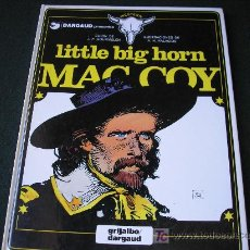 Cómics: LITTLE BIG HORN MAC COY, , VOL 8.-GRIJALBO DARGAUD, 1981, TAPA DURA. Lote 20095644