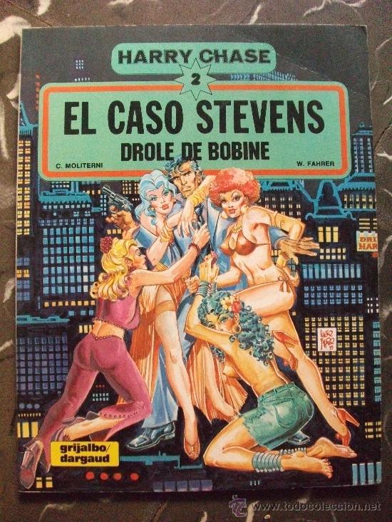 HARRY CHASE 2 EL CASO STEVENS GRIJALBO DARGAUD (Tebeos y Comics - Grijalbo - Otros)