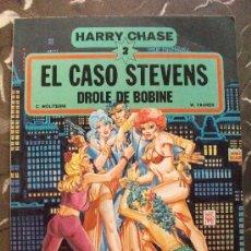 Cómics: HARRY CHASE 2 EL CASO STEVENS GRIJALBO DARGAUD. Lote 22689615