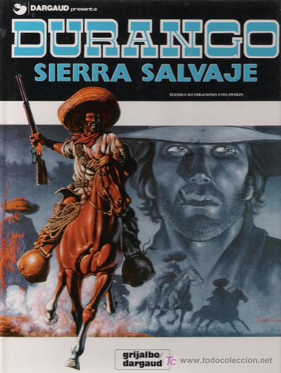 DURANGO Nº 5. SIERRA SALVAJE. EDITORIAL GRIJALBO - DARGAUD. (Tebeos y Comics - Grijalbo - Durango)