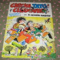 Cómics: CHICHA TATO Y CLODOVEO EN EL CACHARRO FANTASTICO - Nº4 - ED.JUNIOR-GRIJALBO. Lote 27308963
