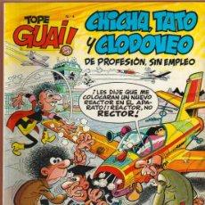 Cómics: TOPE GUAI Nº 4 - CHICHA, TATO Y CLODOVEO - 1986 (EL NEGOCIETE). Lote 26631535
