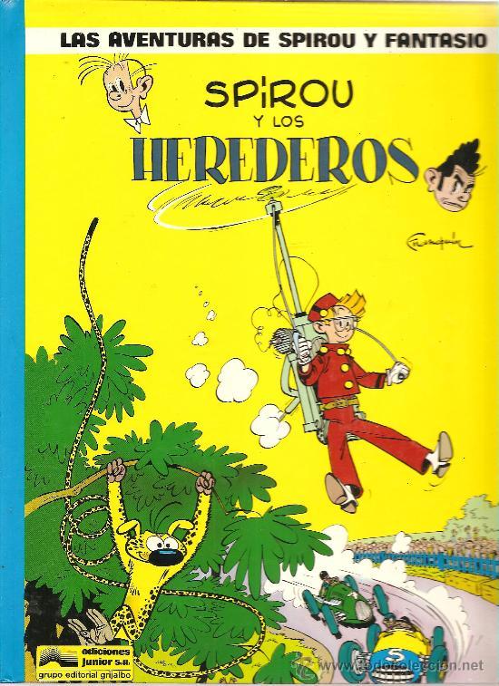 LAS AVENTURAS DE SPIROU Y FANTASIO Nº 2 EDICIONES JUNIOR TAPA DURA (Tebeos y Comics - Grijalbo - Spirou)