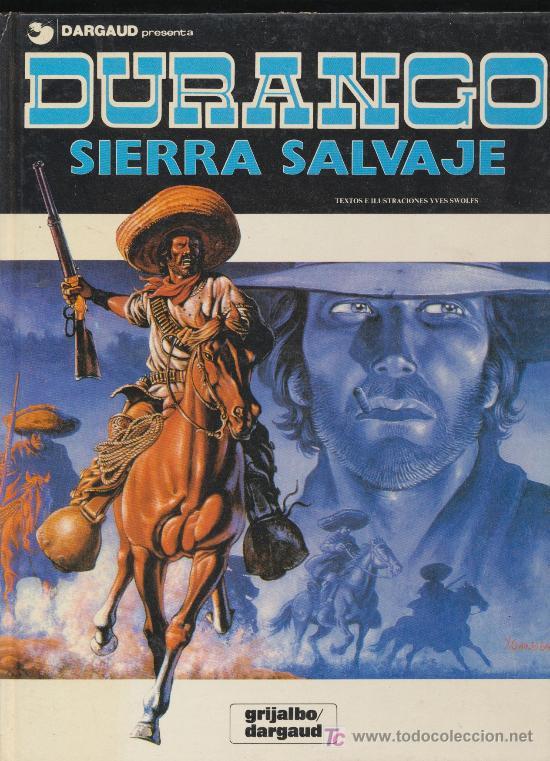 DURANGO Nº 5. SIERRA SALVAJE. (Tebeos y Comics - Grijalbo - Durango)