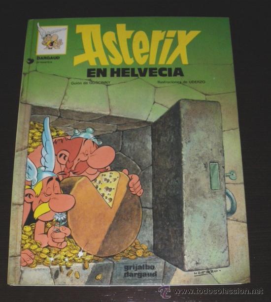 ASTERIX EN HELVECIA - Nº 16 - 1970 DARGAU EDITEAUR, 1980 GRIJALBO - 48 PAGINAS - 30 X 23 CMS - EN M (Tebeos y Comics - Grijalbo - Asterix)