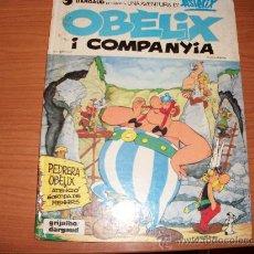 Cómics: ASTERIX Nº 23 OBELIX I COMPANYIA 1980 CATALAN TAPA DURA. Lote 21635838