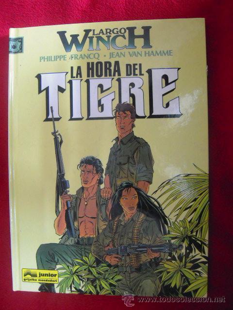 LARGO WINCH - LA HORA DEL TIGRE 8 - FRACQ&VAN HAMME - TAPA DURA (Tebeos y Comics - Grijalbo - Largo Winch)