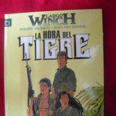 Cómics: LARGO WINCH - LA HORA DEL TIGRE 8 - FRACQ&VAN HAMME - TAPA DURA. Lote 24698548